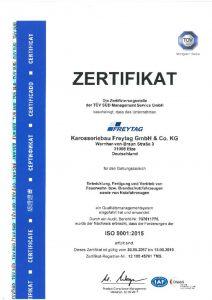 thumbnail of Zertifikat Bau von Feuerwehrfahrzeugen